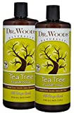 Cleansing Body Tea - Dr. Woods Pure Tea Tree Liquid Castile Soap with Organic Shea Butter, 32 Ounce (Pack of 2)