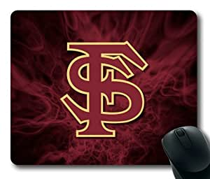 Florida State Seminoles Logo-002 Rectangle Mouse Pad by eeMuse