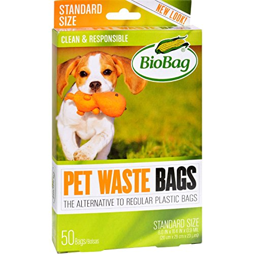 - BioBag Dog Waste Bags, 50 ct