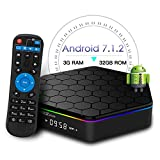 T95Z Plus Android 7.1 tv Box with 3GB RAM 32GB ROM Amlogic S912 Octa-core 64 Bits Support Dual Band 2.4G/5G WiFi 4K Ultra HD Bluetooth 4.1
