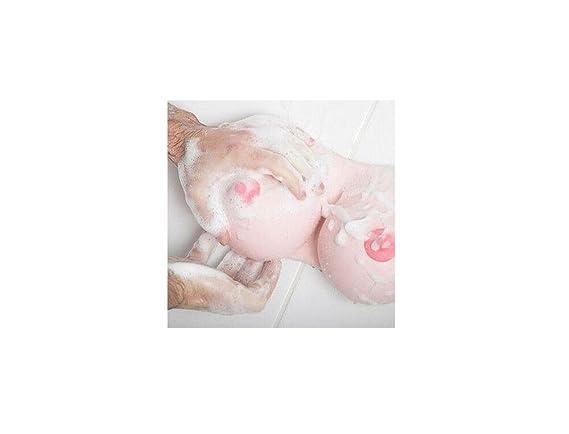 LifeJoy Gel de ducha Champú dispensador de jabón de baño Espuma de la mujer Forma de mama: Amazon.es: Hogar