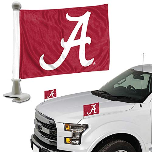 ProMark NCAA Alabama Crimson Tide Flag Set 2Piece Ambassador Stylealabama Crimson Tide Flag Set 2Piece Ambassador Style, Team Color, One Size