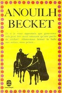 """Résultat de recherche d'images pour """"becket anouilh"""""""
