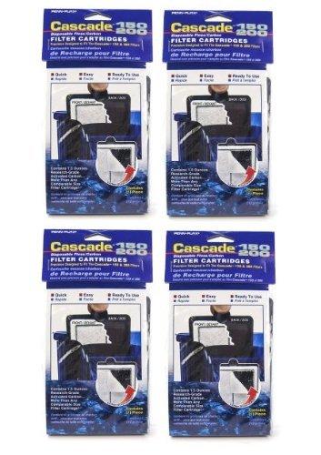 Penn Plax 12-Pack Cascade 150 200 Filter Cartridges