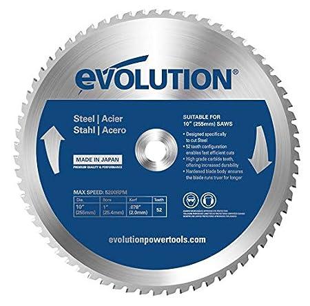 Evolution Power Tools –  construire Rageblade185wood Evolution 185 mm Bois Tê te en carbure Lame, 0 V, Multi, 185 mm 0V 185mm Evolution Power Tools (Accessories) - Quality & Performance