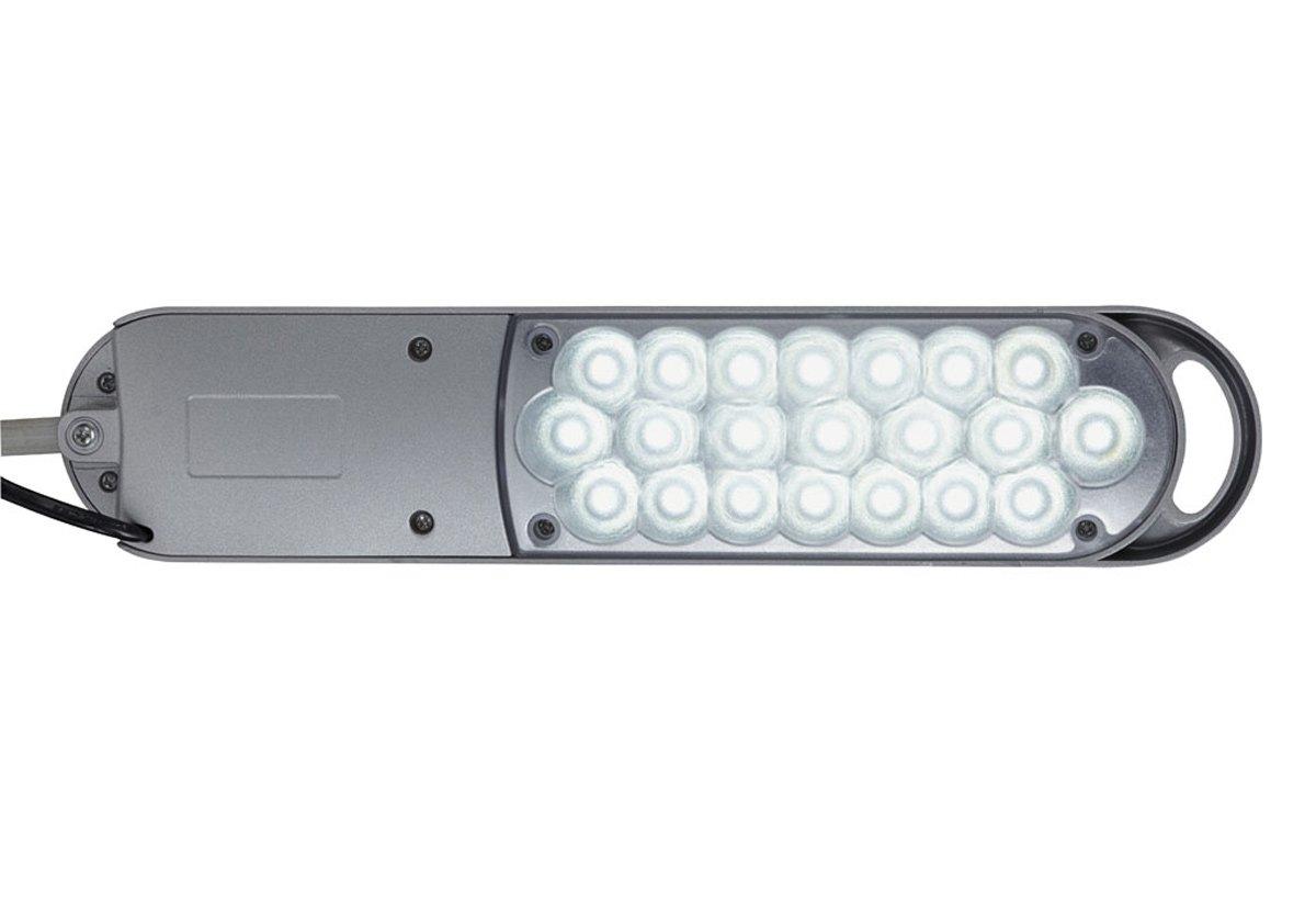 Maul 8203590 MAULatlantic - Flexo de LEDs con pinza de sujeción [Clase de eficiencia energética A]