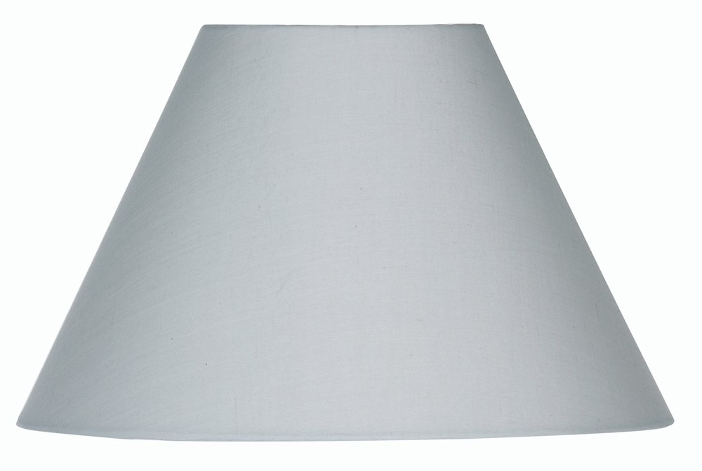 Oaks Lighting Abat-jour conique en coton Gris clair 50  cm S501/20 SG