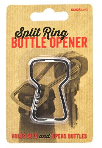 SUCK UK Split Ring Bottle Opener and Key Ring Suck Uk Key