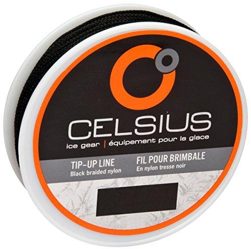 Celsius Braided Nylon TUL-25 Tip-Up Line 50 Yards/25lb (Best Tip Up Line)