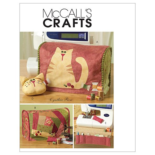 McCall's Pattern Sewing Machine Cover and Accessories, 1 Siz