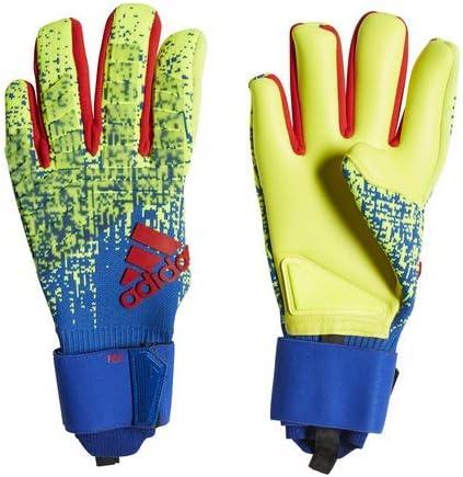horizonte Registrarse Que  adidas Adult Predator Pro Goalkeeper Gloves, Solar Yellow/Bold Blue/Active  Red, 12, Goalkeeper Gloves - Amazon Canada