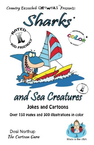 Download Sharks and Sea Creatures -- Jokes and Cartoons: in Full COLOR pdf epub