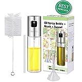 NEWFIT Oil Sprayer Olive Oil Spray Bottle Vinegar Bottle Oil Dispenser...