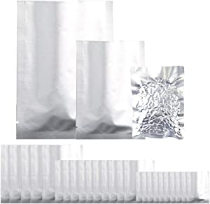 25 Pieces 3 Sizes Mylar Aluminum Foil Bags,mylarbagsforfoodstorage for snacks, dry food, handicrafts Grain, Dried Flowers, Baking, Herb, Storage Container(6 x 9 Inch, 8 x 11 Inch, 10 x 14 Inch)