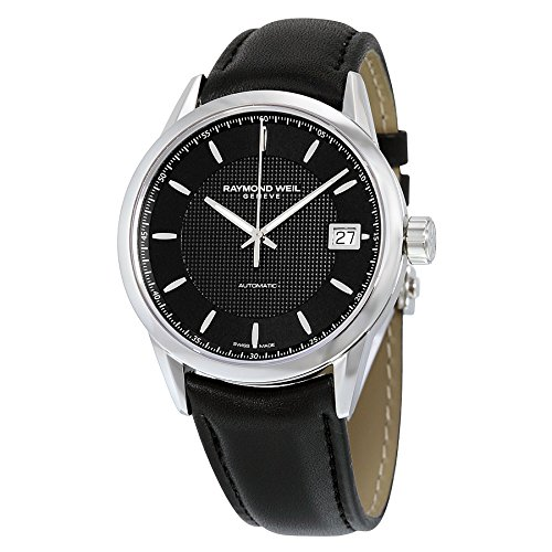 Raymond-Weil-Mens-Freelancer-Swiss-Automatic-Stainless-Steel-Casual-Watch-ColorBlack-Model-2740-STC-20021
