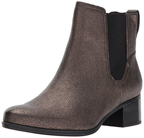 Naturalizer Women's Dallas Ankle Bootie, Bronze, 9 M US Bronze Ankle Boot