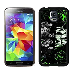 Hot Sale Samsung Galaxy S5 I9600 Screen Cover Case With Bring Me The Horizon Black Samsung S5 I9600 Case Unique And Beautiful Designed Phone Case
