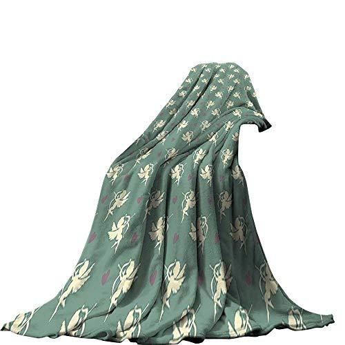 QINYAN-Home Super Soft Lightweight Blanket (60