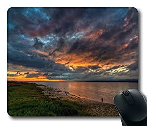 Mouse Pad - Beautiful River Scenery Durable Office Accessory Desktop Laptop MousePad and Gifts Gaming mouse pads