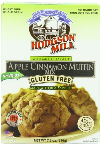 Hodgson Mill Apple Cinnamon Muffin Mix, Gluten Free, 7.6-Ounce Boxes (Pack of 6) - Cinnamon Sugar Mix