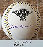 Robinson Cano Signed Autographed Official (OML) 2006 All Star Baseball - COA Matching Holograms