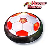 LOFEE Girls Toys Age 3-8, Hover Soccer Ball for Kids Gifts for 7-12 Year Old Boy Presents for 5-11 Year Old Girl Toy for 5-8 Years Old Girl HB-Red