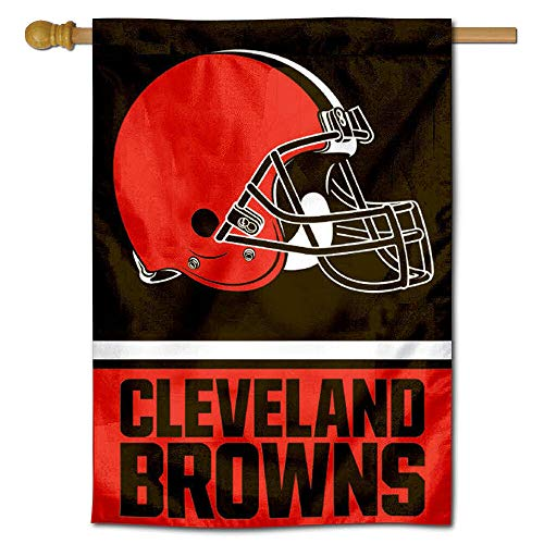 - WinCraft Cleveland Browns Two Sided House Flag