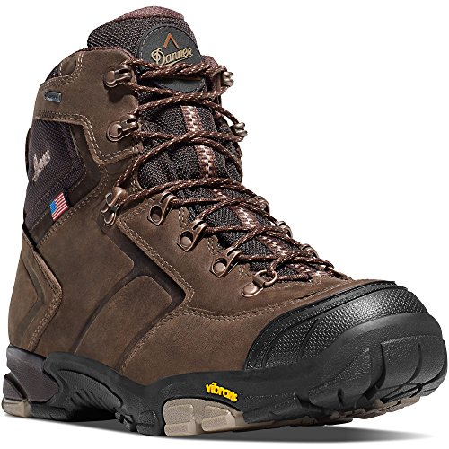 Danner MT Adams 4.5 Brown Vibram (65810) Sole Outdoor Boots   Waterproof  Hiking Combat Boot   Mountain Boot   Downhill Braking and Side-Hill Traction   Made In USA