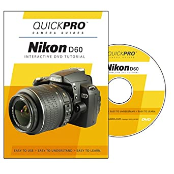 amazon com nikon d60 instructional dvd by quickpro camera guides rh amazon com nikon d60 guide pdf nikon d60 instruction manual english