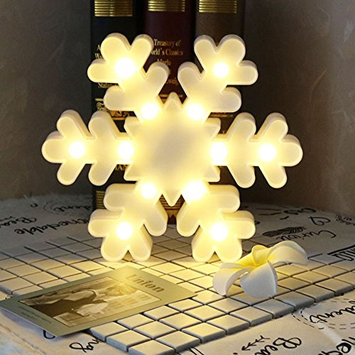 Led 3D Snowflake Christmas Light - 4