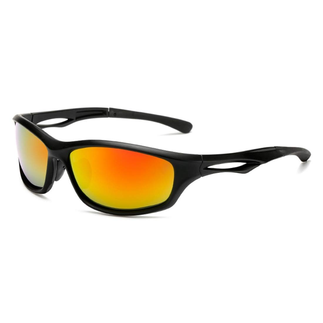 BAOYIT Men and Women Outdoor Cycling Sports Glasses Driving Polarized (Color : A) by BAOYIT
