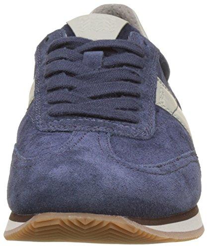 azules Zapatillas bajas Vinto hombre para B marino de Geox de azul U wBrqCzFxw