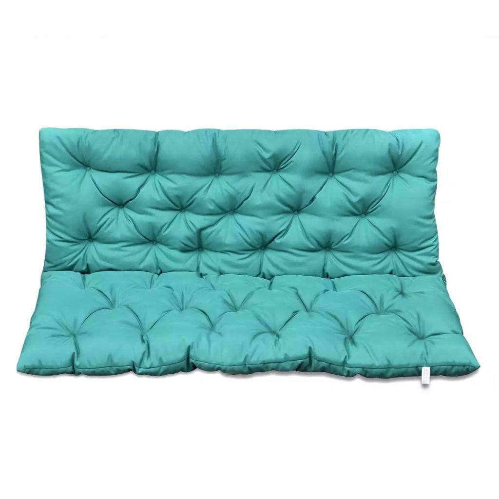 Tidyard 47.2/59 inch Cushion for Swing Chair Bench Cushions Furniture Outdoor Cushion for Patio Green/Gray/Cream