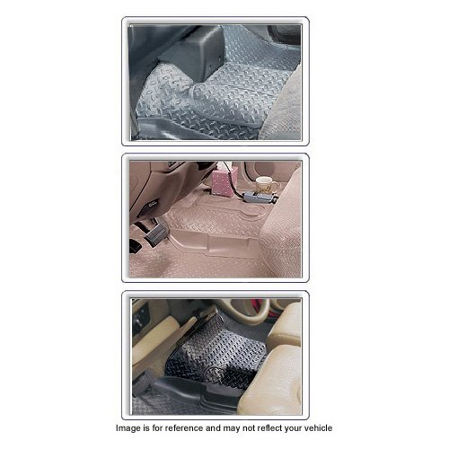 Center Hump Liner For Ford ~ F-250 Pickup ~ 2000-2007 ~ Tan ~ Reg/Ext Cab with Automatic Trans. only - w/o Floor Shifter (Cab Floor Center Hump Tan)