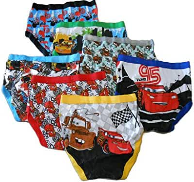 Handcraft Little Boys' Disney Cars 7 Pack Brief (2T/3T)