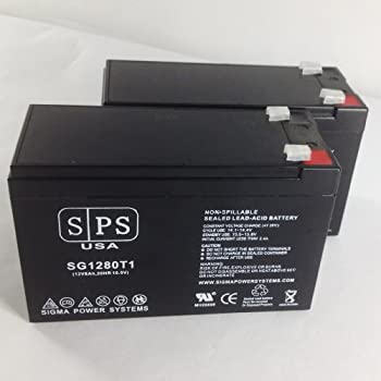 Replacement Battery for Opti-UPS Enhanced Series ES1000C, ES1000C-RM 12V 8Ah UPS Battery ( 2 pack) -