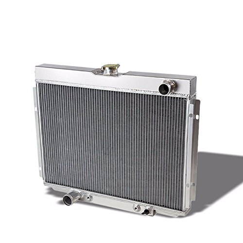 TRI Core High Capacity Race Aluminum Radiator Kit For Ford 67-70 Mustang/ 67-69 Falcon/Ranchero/Fairlane/68-69 Torino( Fits AT/MT Transmission with 390/ 428/ 429/ 302/ 351 Cu. In. V8 Engines) -