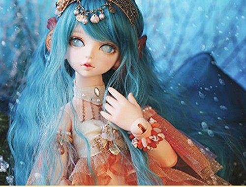 40.5CM Doll Mermaid Doll with Fishtail 1/4 BJD Doll Dollfie / 100% Custom-made / Free Make-up + Free Gifts