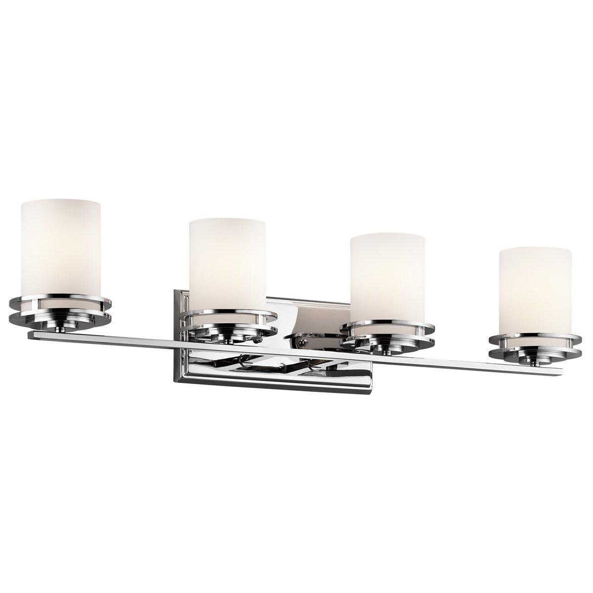 Kichler 5079CH Four Light Bath - Vanity Lighting Fixtures - Amazon.com