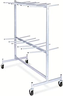 """product image for Raymond Steel Hanging Chair/Table Truck, Phenolic Wheels, 800 lbs Load Capacity, 84"""" Height, 63"""" Width X 31-5/8"""" Depth"""