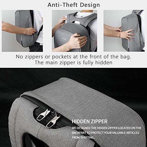 Kopack 15 6 Inch Anti Theft Laptop Backpack With Usb