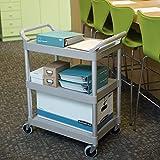 Rubbermaid Commercial Products Heavy Duty 3-Shelf