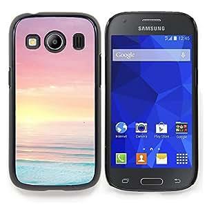 Stuss Case / Funda Carcasa protectora - Bleu Rose Orange Vibrant mer océan - Samsung Galaxy Ace Style LTE/ G357