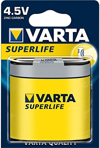 Varta Superlife - Pila 4.5 volts