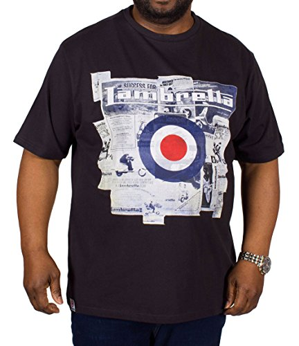 Lambretta Herren T-Shirt blau navy XXL
