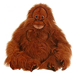 "20.25"" Lifelike Handcrafted Extra Soft Plush Orangutan Stuffed Animal - 51Ol6abdRwL - 20.25″ Lifelike Handcrafted Extra Soft Plush Orangutan Stuffed Animal"