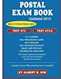 img - for Postal Exam Book for Test 473 and 473-C by Albert B. Kim (2015-08-12) book / textbook / text book