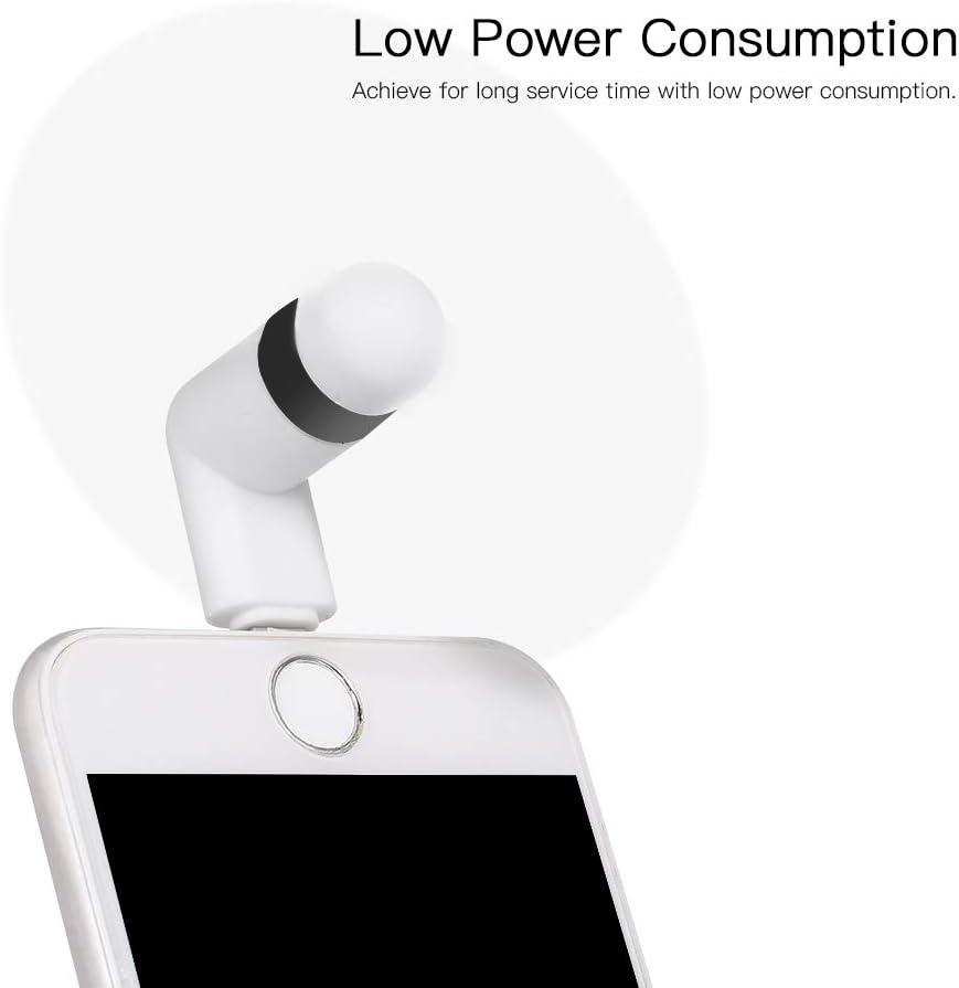 Type-C Phone Fan Portable Cooling Fan Flexible Cooler for Type C Devices Laptop Docooler Mini USB Fan
