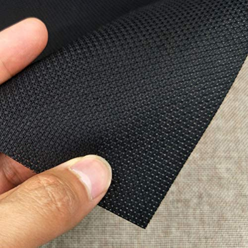 Healifty 4 St/ück Aida Kreuzstich Stoff Schwarz Stickstoff Material f/ür Handwerk 30 X 30 cm