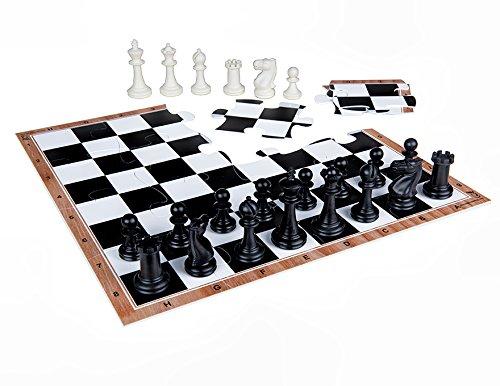 新着 jigchessチェスセット – B0775ZPCCH チェスボードジグソーパズル、プラスチックチェスピース B0775ZPCCH, modello luxury:35fc561b --- nicolasalvioli.com